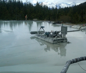 mine sediment dewatering
