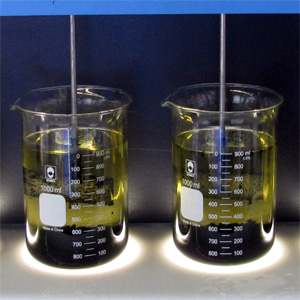 Jar Testing Polymers